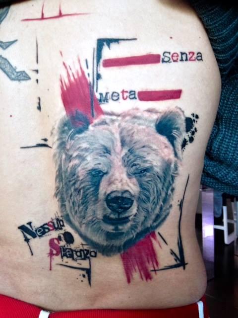 Realistic Trash Polka Tattoo I migliori tatuatori di Italia