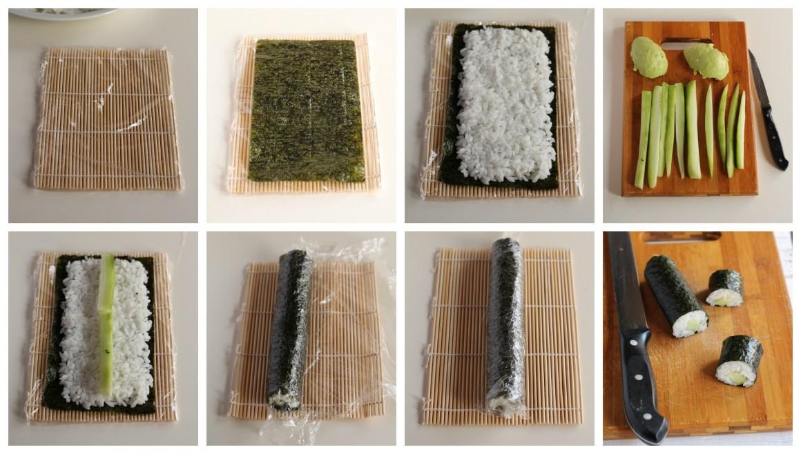 Come preparare hosomaki