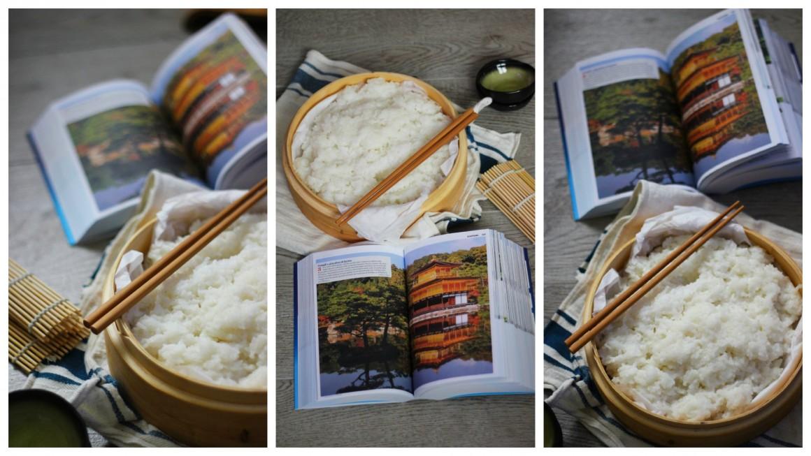preparazione riso sushi